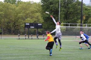 Emerson Ultimate Frisbee flies into campus