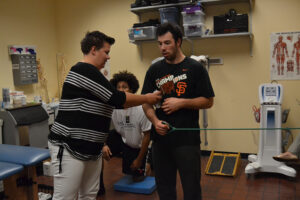 Trainers create comfortable atmosphere for athletes
