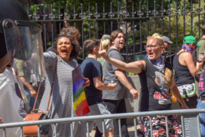 Tensions flare during Boston's Straight Pride Parade