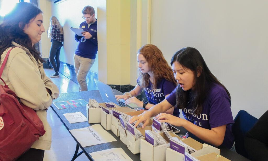 There are 926 new first-time students that make up this year's incoming class. Flora Li/Beacon Staff