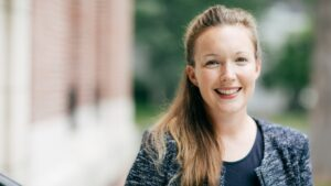 Allison O'Connor is one of two candidates competing for the Deputy Title IX Coordinator position. Photo: Dartmouth College