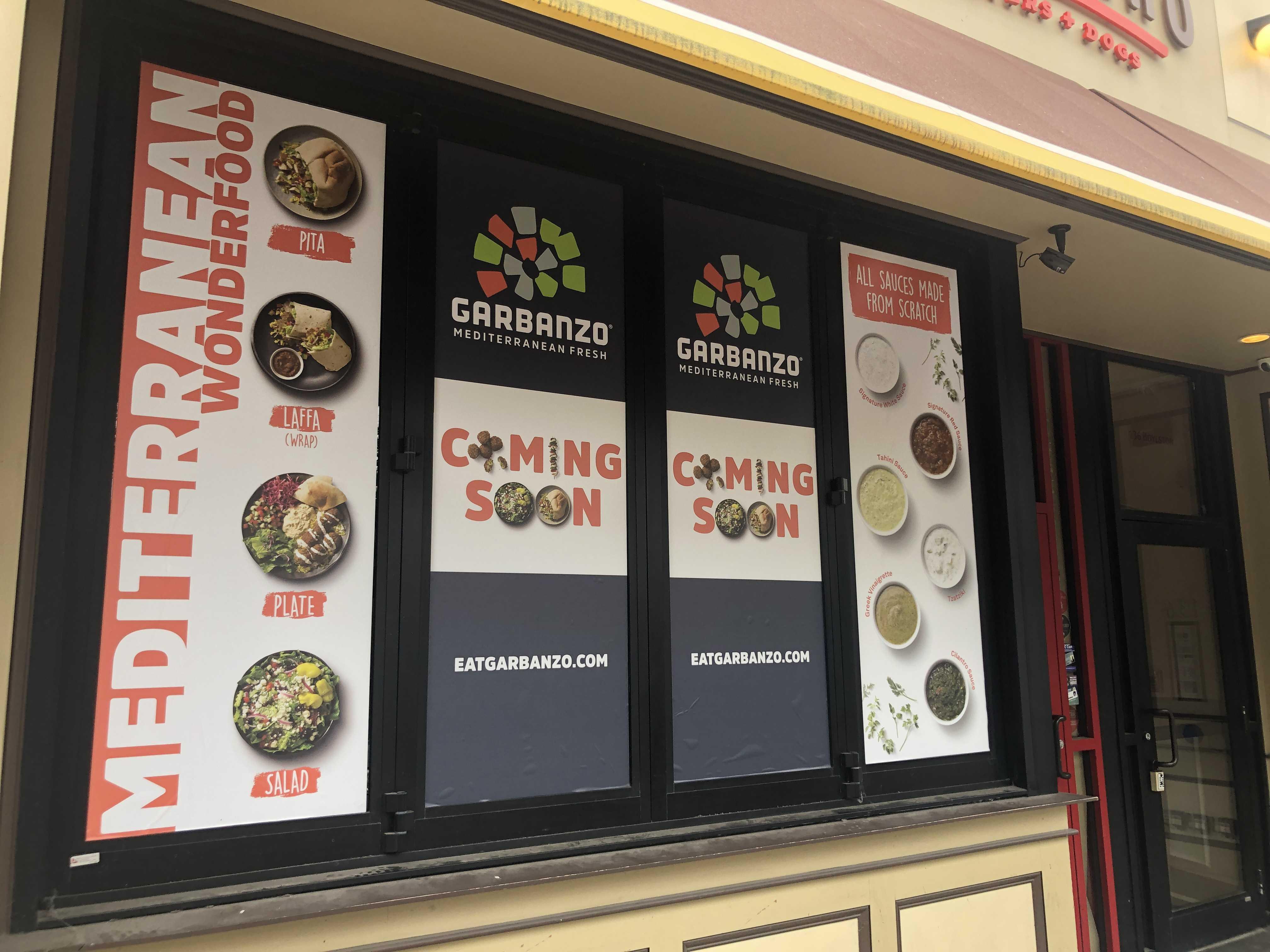 Mediterranean restaurant Garbanzo is scheduled to open in January. Stephanie Purifoy / Beacon Staff