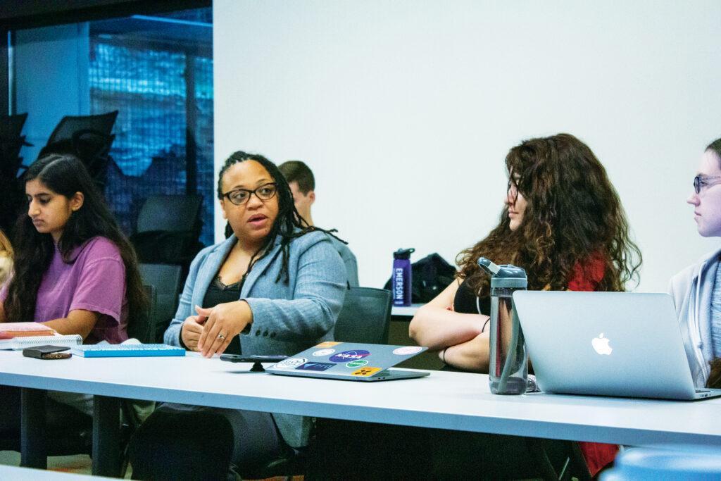 SGA hosts new diversity director, public art think tank