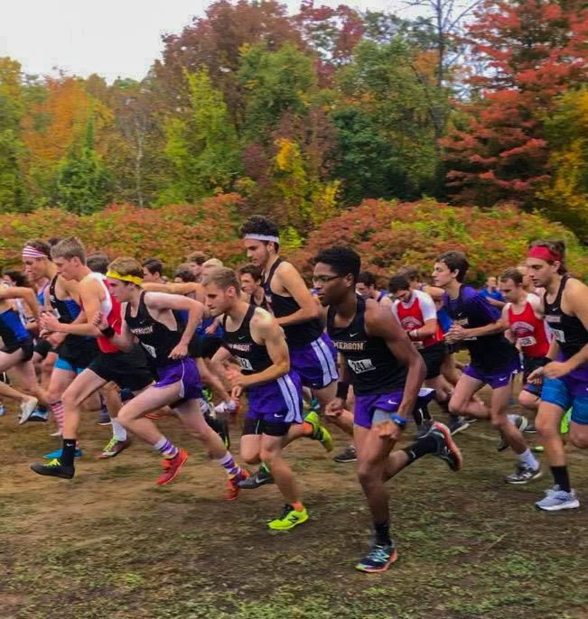 The cross country teams will race in the Suffolk Invitational on Saturday. Photo courtesy of the Cross Country team.