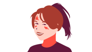 Megan Ellis - Graphic by Ally Rzesa / Beacon Staff
