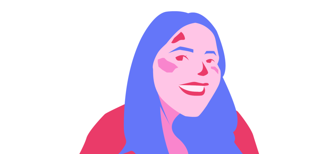 Monika+Davis+-+Graphic+by+Ally+Rzesa+%2F+Beacon+Staff