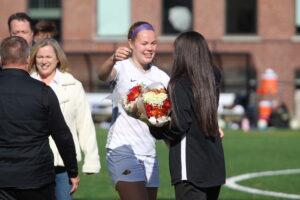 Women's soccer heads to playoffs despite senior day loss
