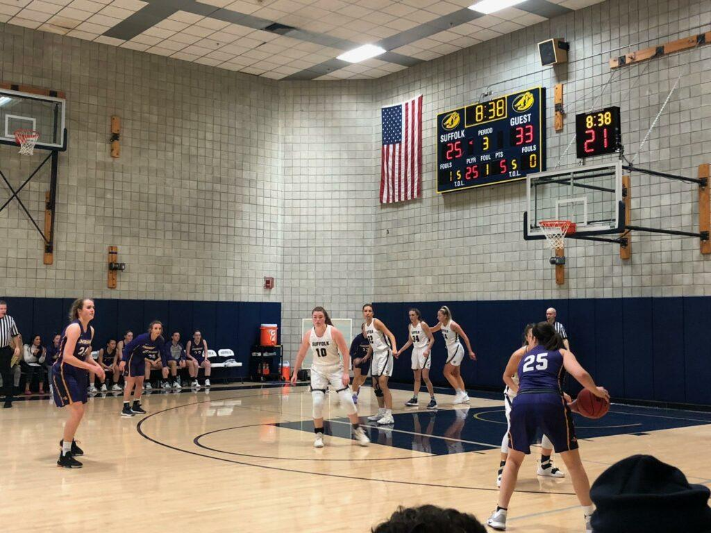 The womens basketball team shot 39 percent from the field. Christopher Williams / Beacon Staff