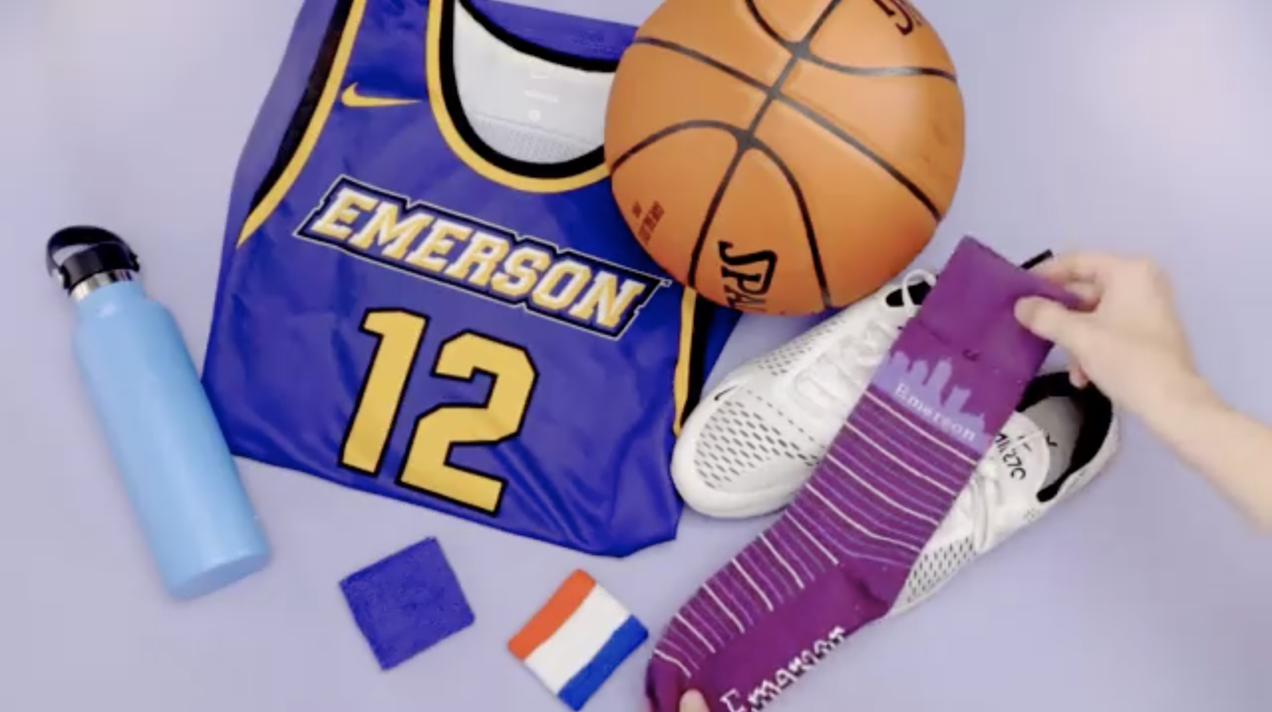 Donations from Tight Knit go to benefit student organizations. Screenshot from Emerson College Alumni Association Facebook Video.