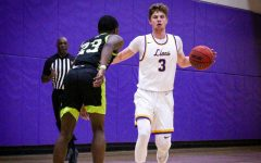 Balanced scoring leads men's basketball past Lesley