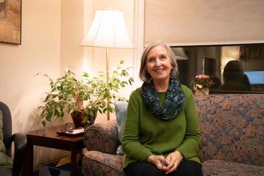 Director of ECAPS Elise Harrison posing for a portrait on December 6, 2019.