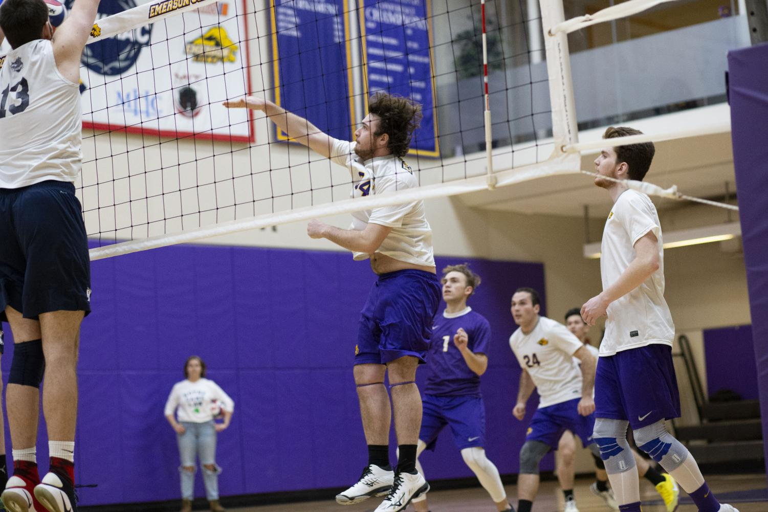 The men's volleyball team lost in the first round of the NEWMAC playoffs for the third consecutive year last season.