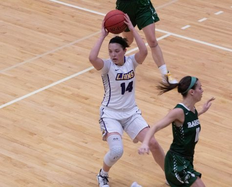Kate Foultz scored 13 points while shooting a team high 40 percent from the field.
