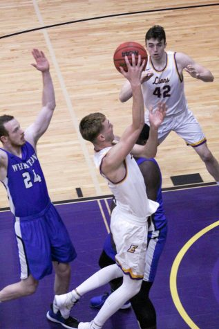 Senior guard Jack O'Connor scored 24 points and pulled down six rebounds against Wheaton on Saturday.