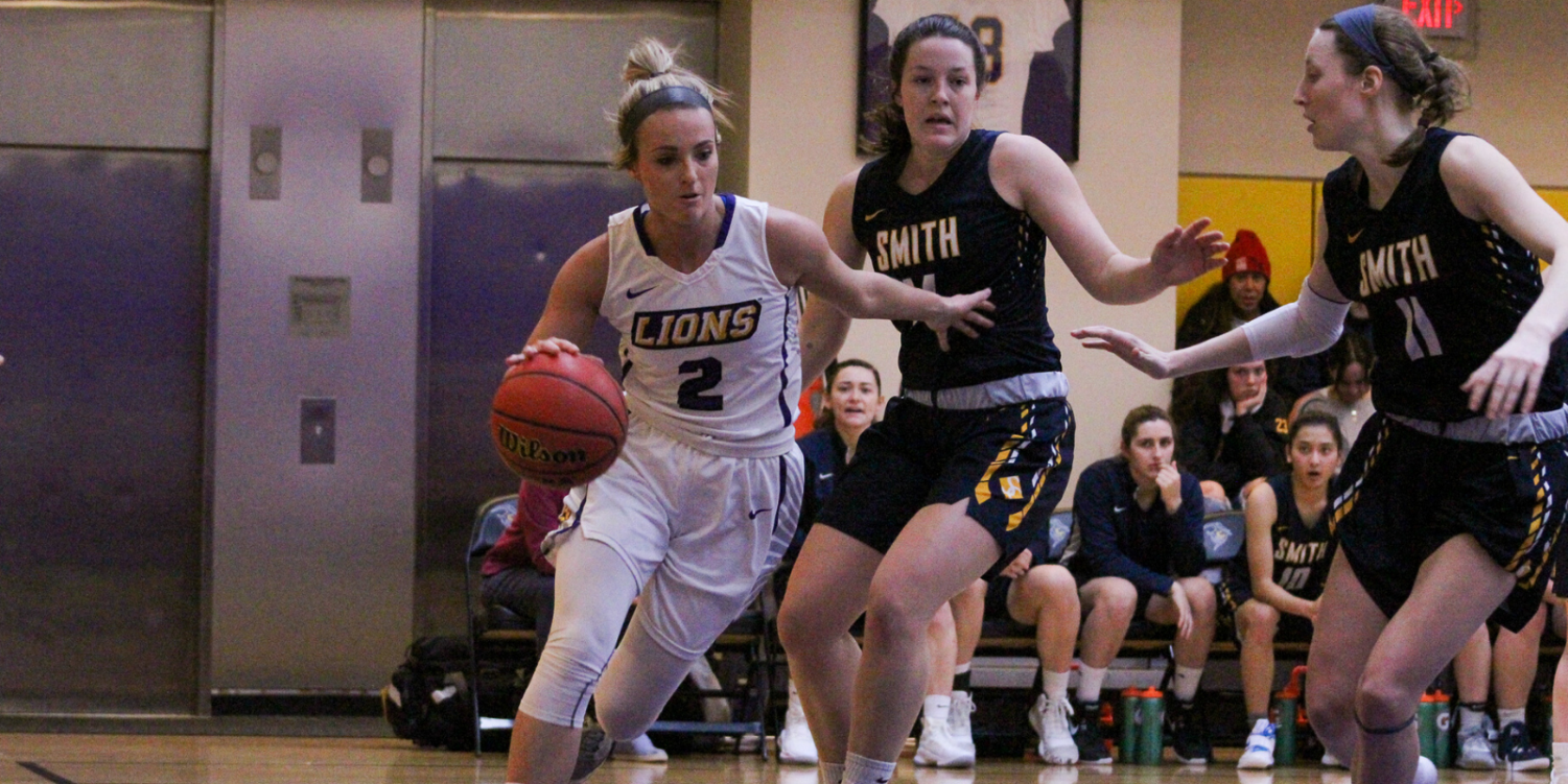 Senior Natalie Clydesdale scored 17 points and grabbed nine rebounds in the narrow victory over Smith.