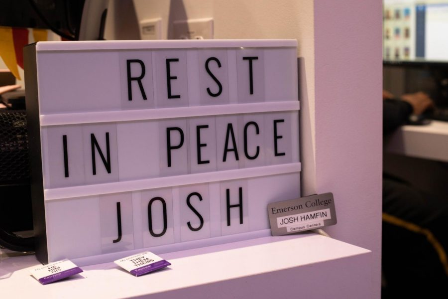 A+small+memorial+for+Josh+Hamfin+took+the+place+of+Hamfin%27s+tank+after+his+passing+last+week.+Photo+credit%3A+Stephanie+Purifoy