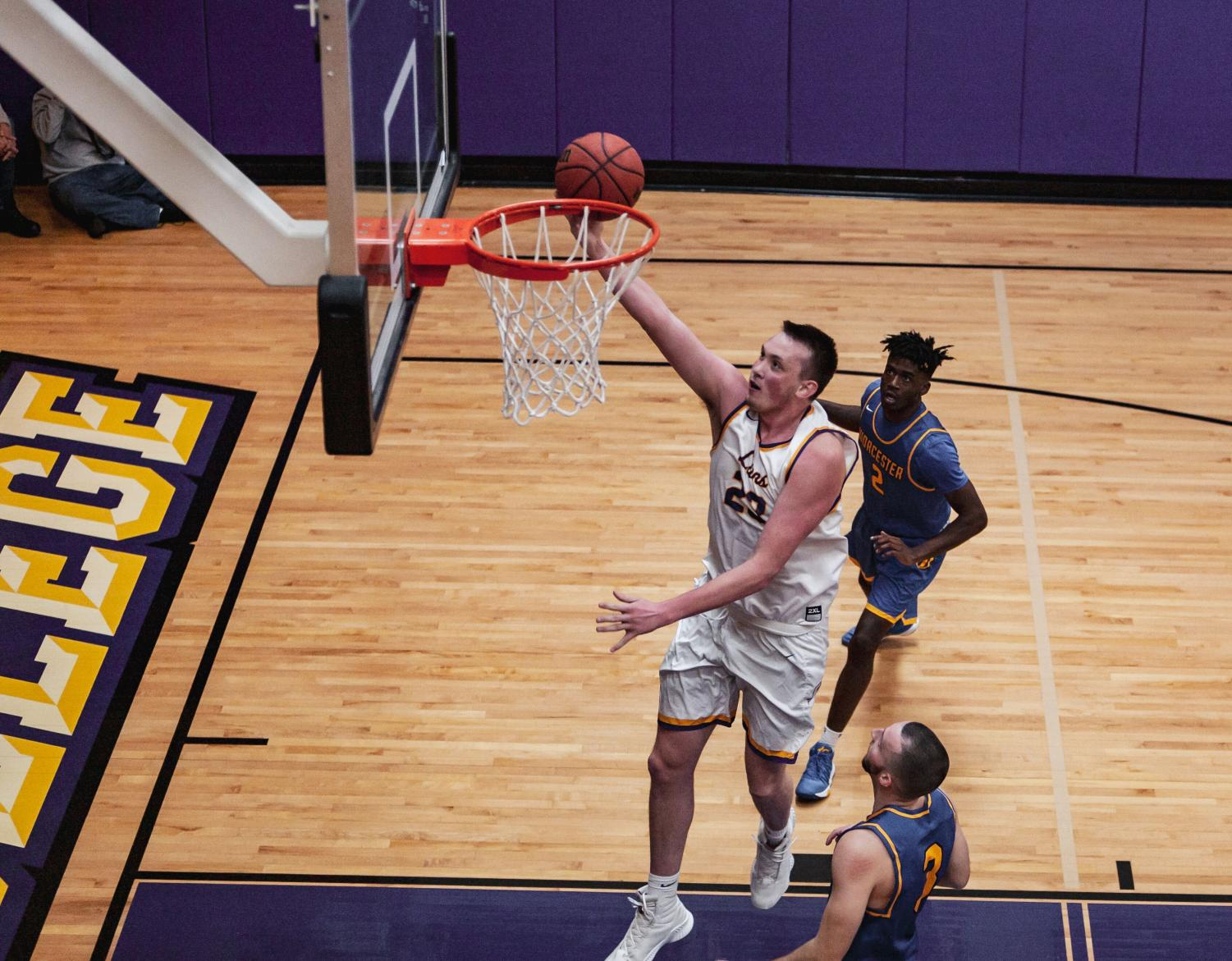 Jarred Houston is averaging 14 points to go along with 8.5 rebounds per game this season Photo credit: Kate Foultz