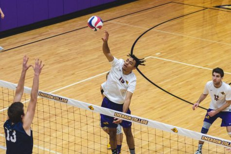 Men's volleyball swept by conference opponent
