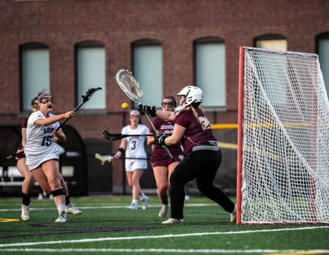 Jenna Tomsky scored 14 goals in three games for the Lions