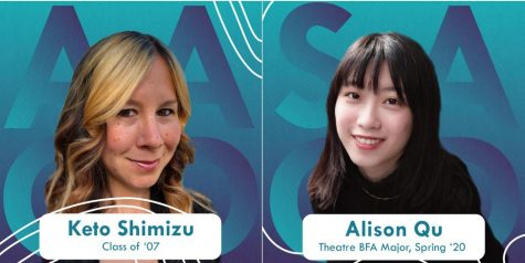 TV writer and producer Keto Shimizu '07 and Senior Performing Arts major Alison Qu were chosen for student and alumni distinction awards Friday by the EVVYs.