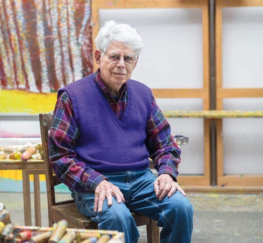 Nationally renowned painter and Marlboro benefactor dies at 92