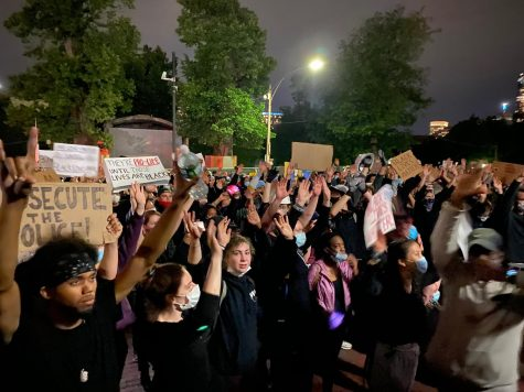 Hundreds gathered outside the Massachusetts State House on Tuesday to protest police brutality