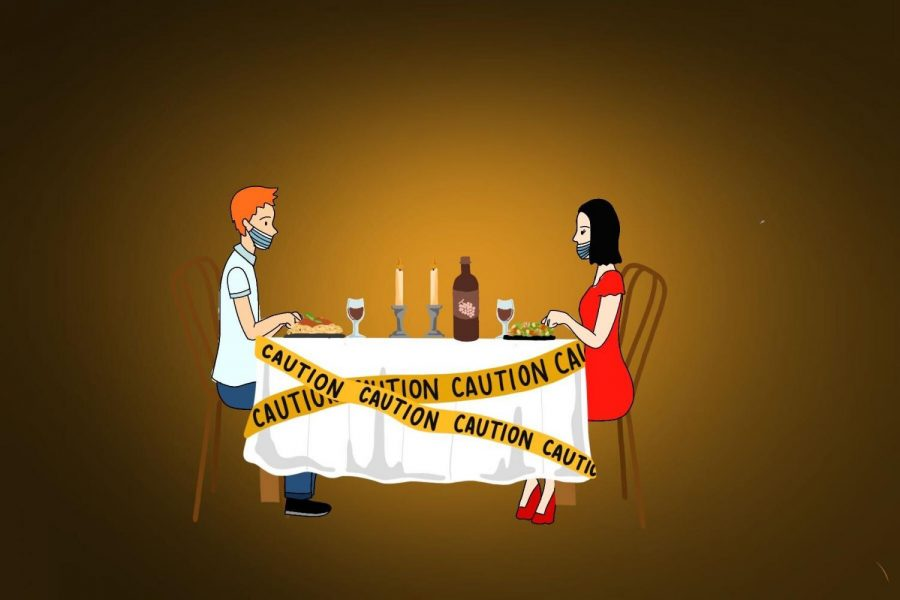 Dining out may not seem scary now that new safety precautions are in place. But staying home is the best course of action to ensure the health of both you and your server.