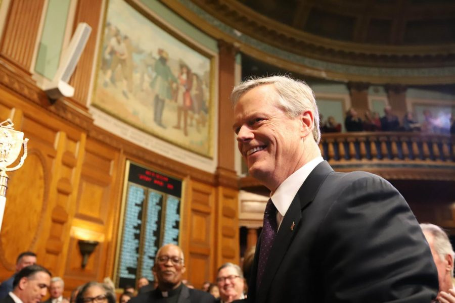 Massachusetts Governor Charlie Baker.