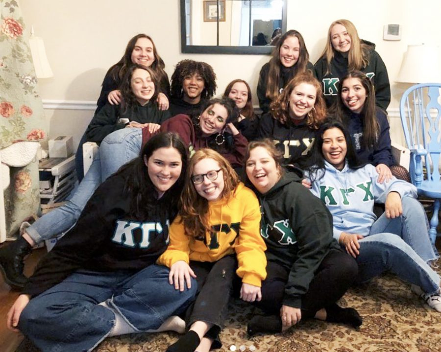 Members of Kappa Gamma Chi opted out of recruitment this semester.