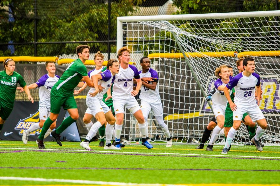 The men's soccer team's 3.56 GPA is good for the second highest in the conference, behind academic powerhouse MIT.