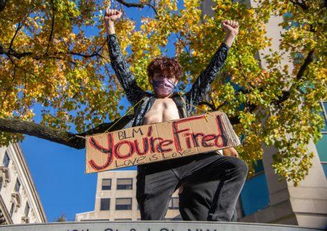 """A Washington D.C. man displays a """"You"""