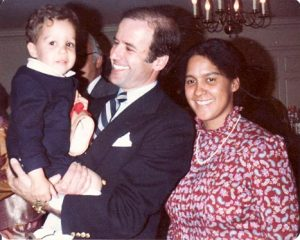 President-elect Joe Biden holding a toddler Pete Wentz beside his mother, Dale Wentz. The 41-year-old Fall Out Boy lyricist and bassist is best known for his impact on the emo music genre.