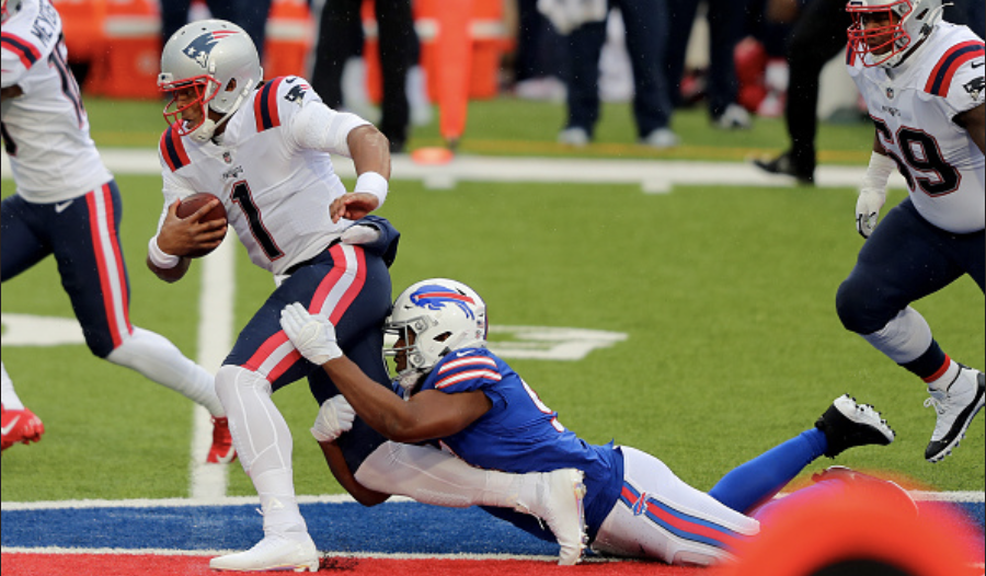 Patriots fumble in the final minute, lose to Bills in fourth straight loss