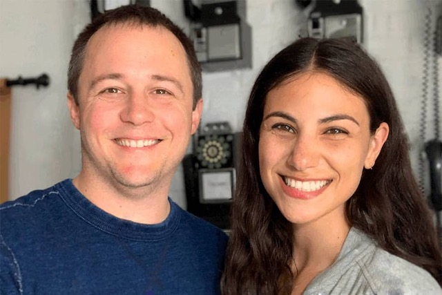 Alum Stephanie Kent '10 and her husband Logan Smalley wrote the novel 'The Call Me Ishmael Phone Book,' an interactive guide to book recommendations and local book stores across the U.S.