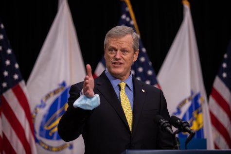 Massachusetts Governor Charlie Baker.