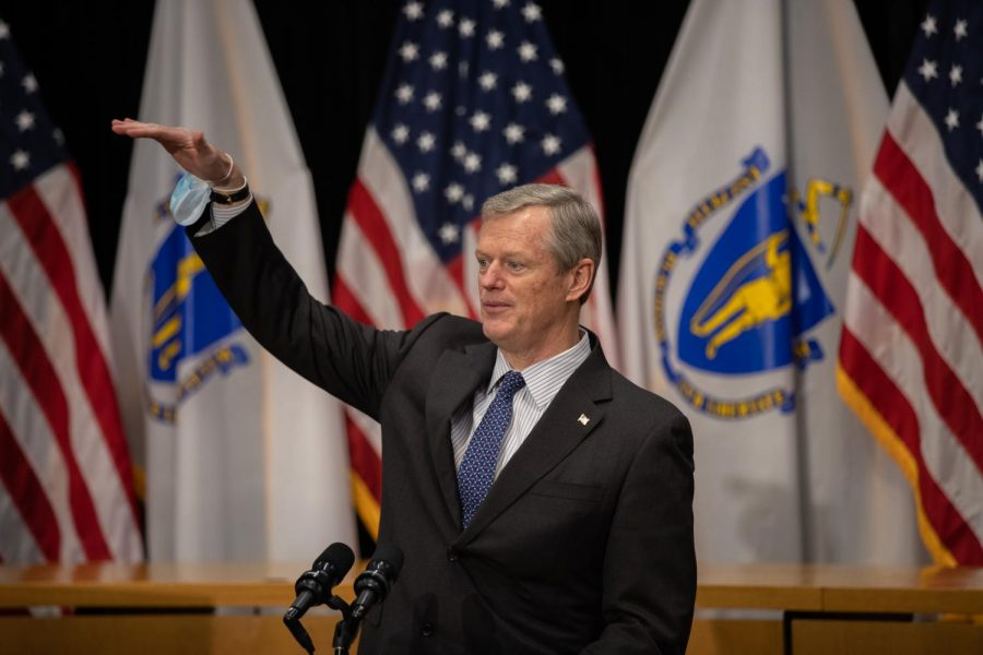 Massachusetts+Gov.+Charlie+Baker.+