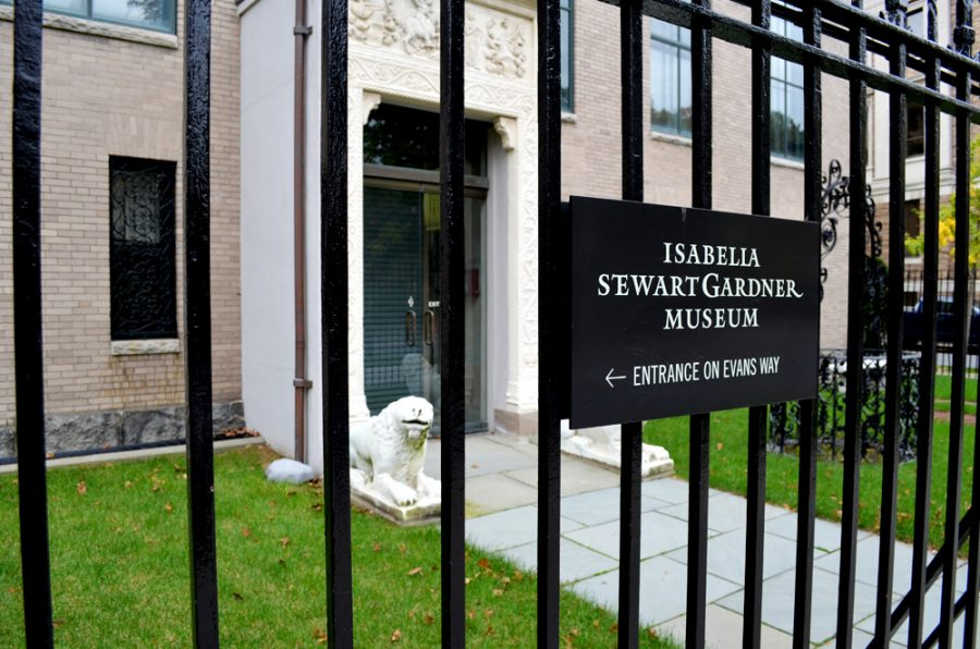 sabella Stewart Gardner Museum