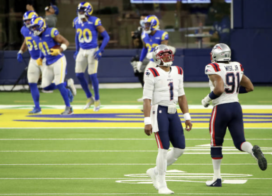 Patriots' playoff chances low after splitting Los Angeles trip