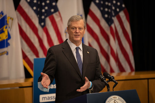 Massachusetts Gov. Charlie Baker