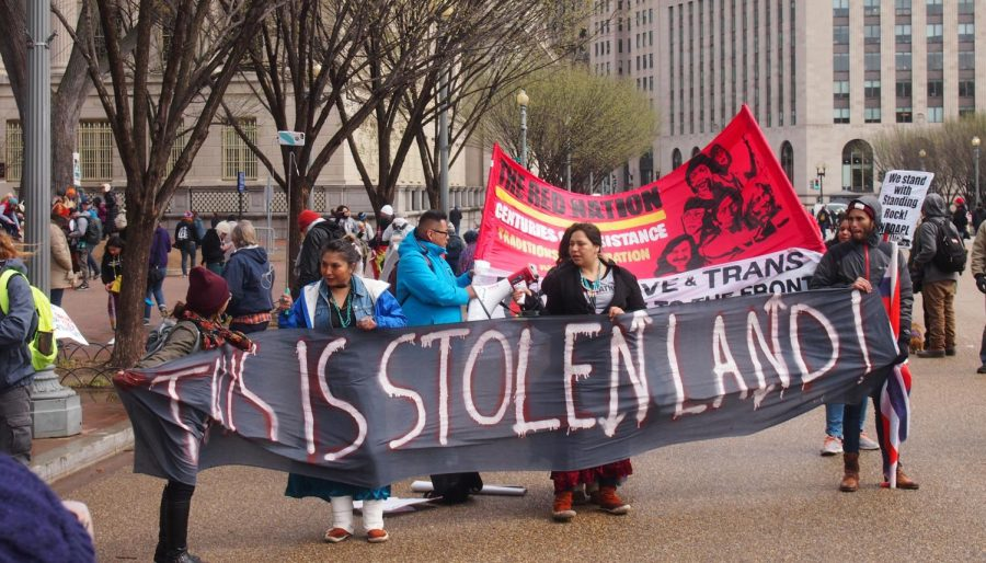 Stand with Standing Rock- March on Washington, D. C.  March 10, 2017