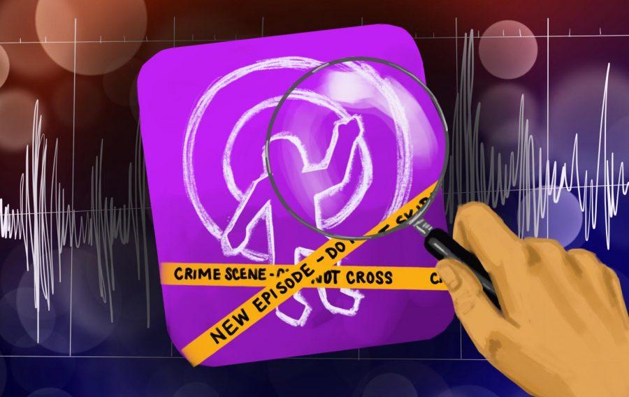True Crime illustration