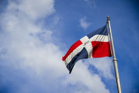 The Flag of the Dominican Republican