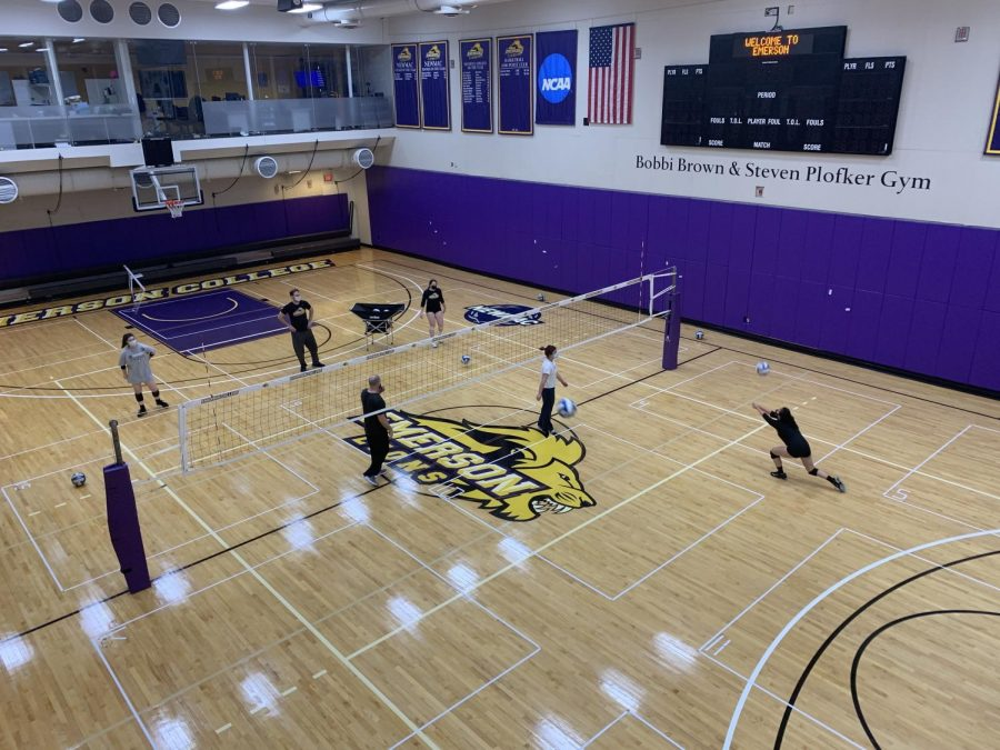 Four members of the women's volleyball team were awarded spots on the NEWMAC 2020-21 Women's Volleyball Academic All-Conference Team.