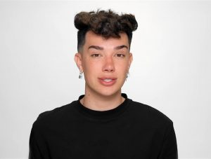 Image from one of James Charles' apology videos.