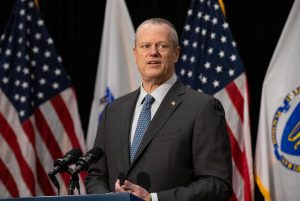 Massachusetts Gov. Charlie Baker.