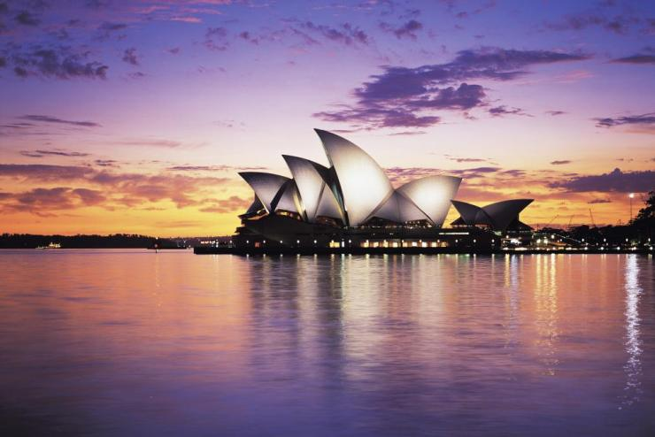 A global pathways program in Sydney, Australia.