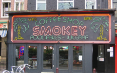 Smokey Coffeeshop is just one of the many social cannabis consumption spaces in Amsterdam.