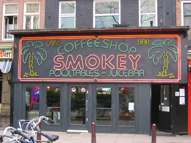 Smokey+Coffeeshop+is+just+one+of+the+many+social+cannabis+consumption+spaces+in+Amsterdam.