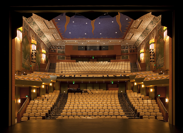 The Robert J. Orchard Stage, one of ArtsEmerson's venues