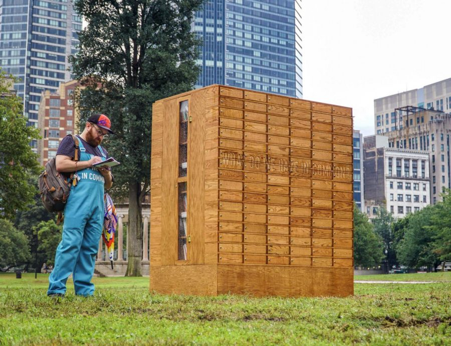 What+do+we+have+in+Common+installation+in+the+Boston+Common.